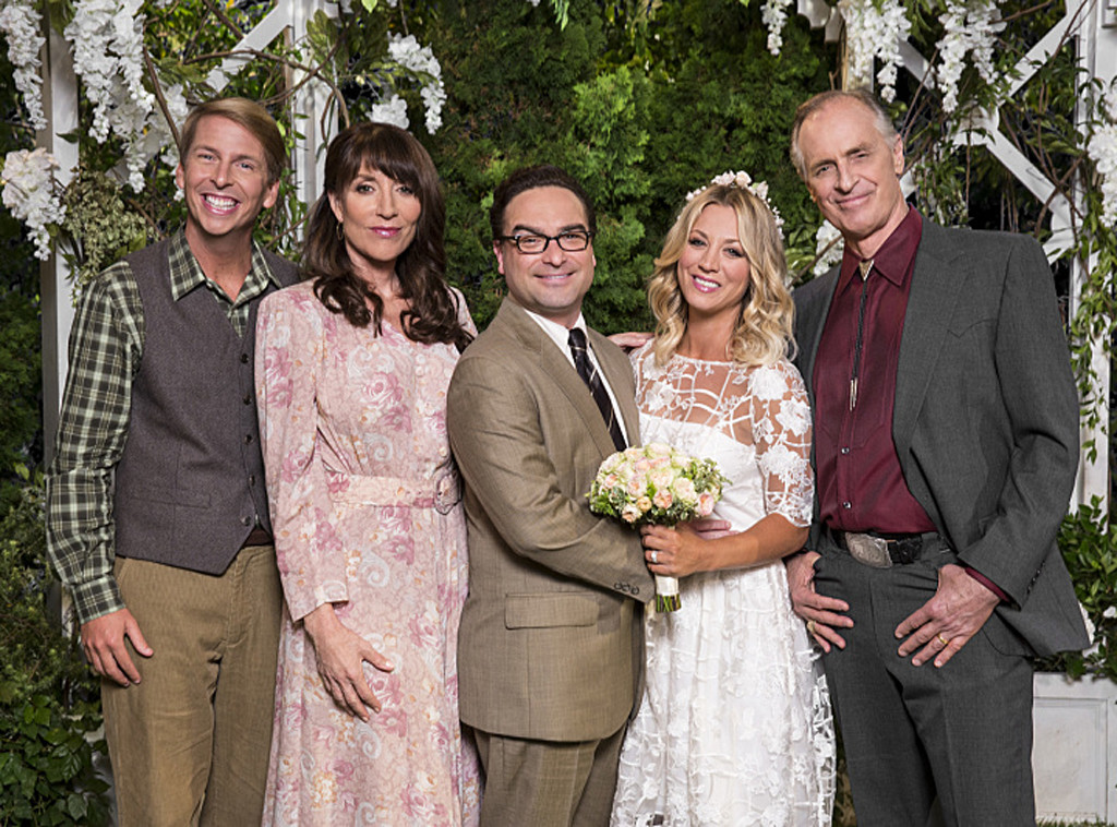 The Big Bang Theory's Wedding Portrait Will Give You All