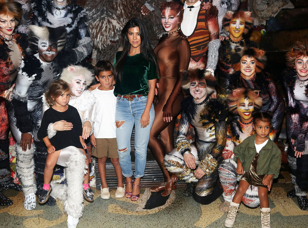 Kourtney Kardashian, Mason Disick, North West, Penelope Disick