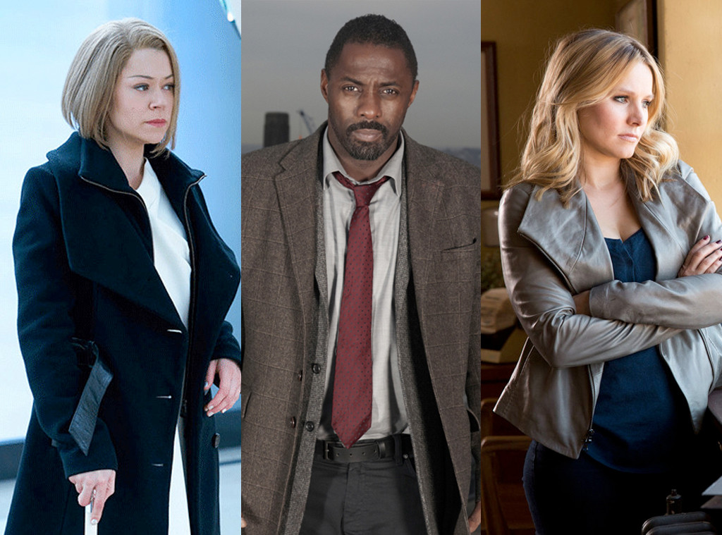 Orphan Black, The Wire, Veronica Mars