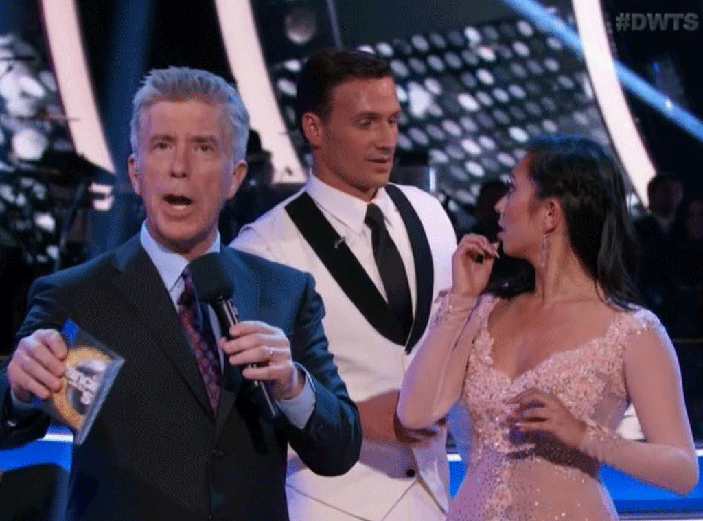 Ryan Lochte, Cheryl Burke, Dancing With the Stars