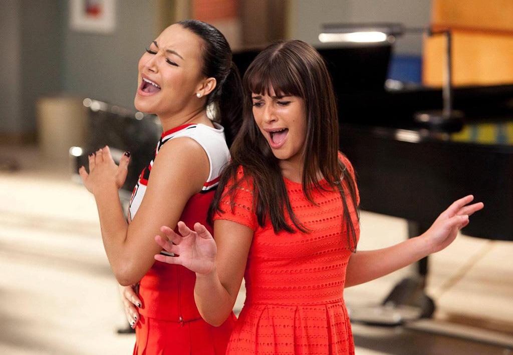 Naya Rivera, Lea Michele, Glee