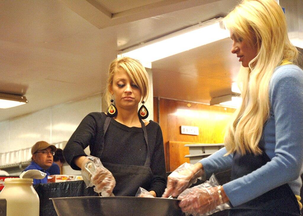 Paris Nicole Bring Junk Food Back
