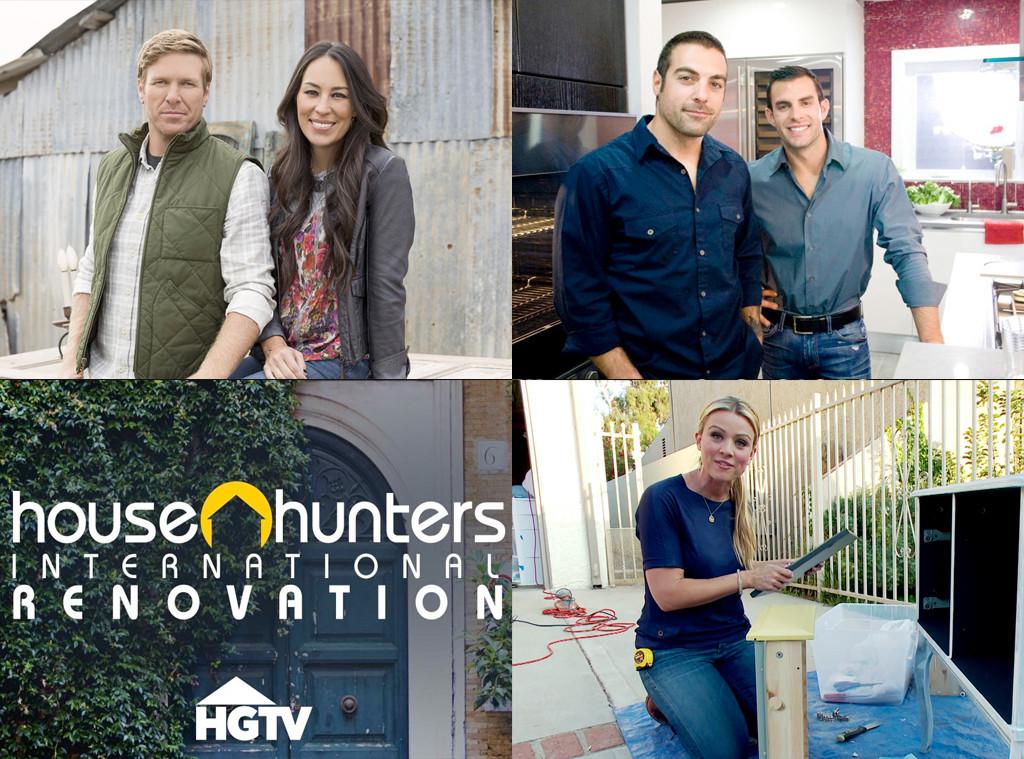 HGTV Bracket, Fixer Upper, Kitchen Cousins, House Hunters International Renovation, Design on a Dime