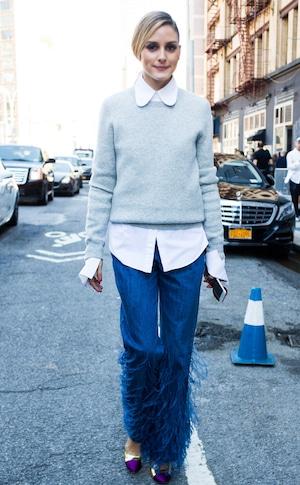 ESC: Celeb Street Style, Olivia Palermo, Sweater