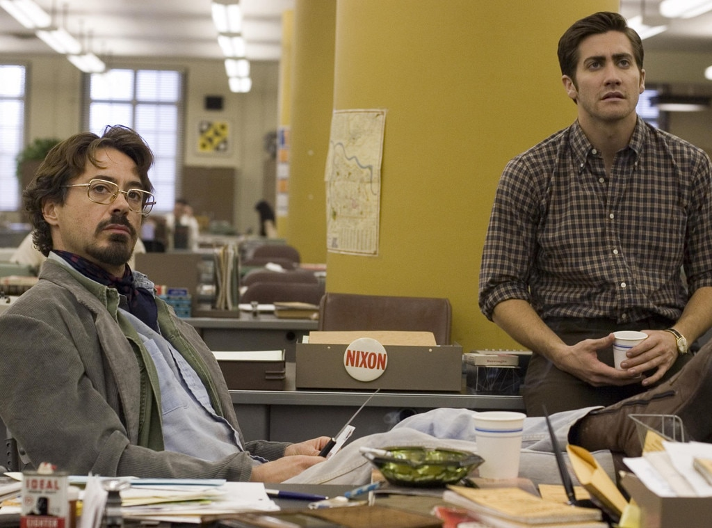 Zodiac  -  Starring  Jake Gyllenhaal ,  Mark Ruffalo , and  Robert Downey Jr. , this 2007 thriller brings to the big screen the captivating investigation into tracking down the famed Zodiac Killer.