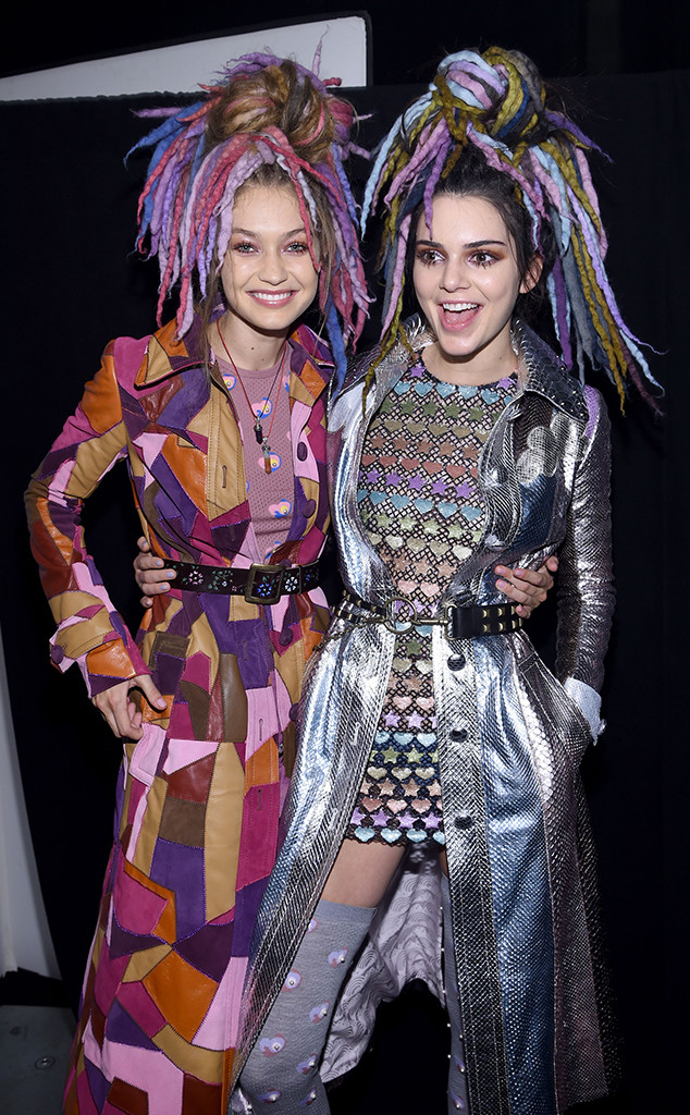 Gigi Hadid, Kendall Jenner, NYFW