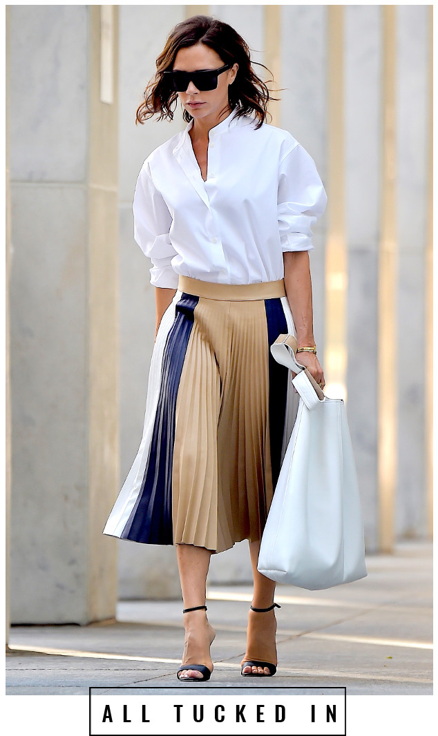 19983a0f9 5 Days, 5 Ways: How to Style a White Shirt, the Fashion-Girl Way | E ...