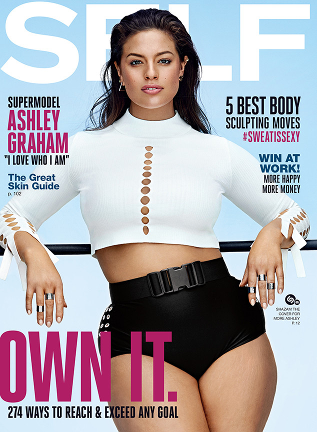 Ashley Graham, Self Magazine