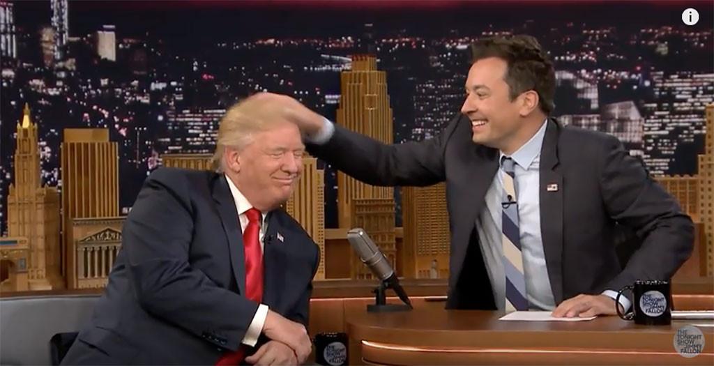 Jimmy Fallon, Donald Trump