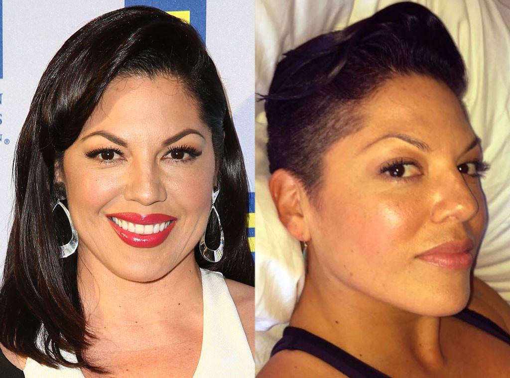 Sara Ramirez, Hair