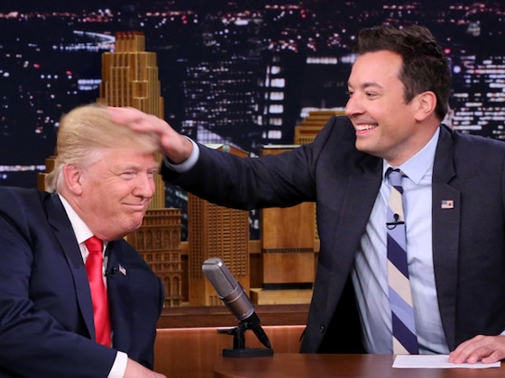 "President Donald Trump Fights With Jimmy Fallon: ""Be a Man"""