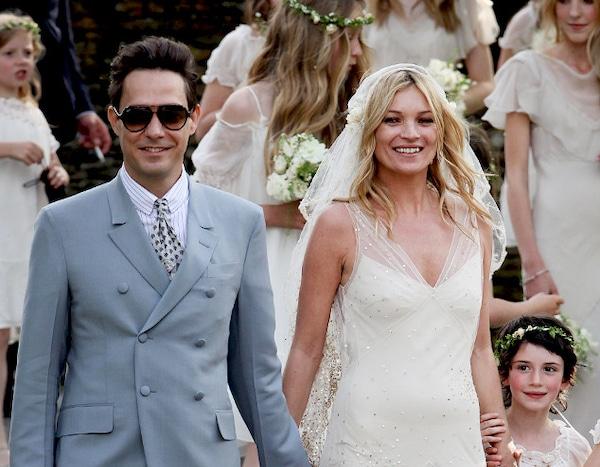 Kate Moss Wedding.Kate Moss From Supermodel Wedding Dresses E News