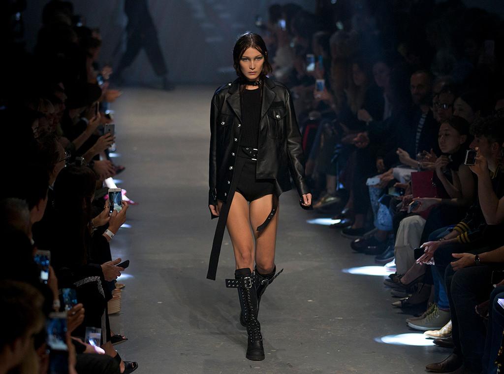 Bella Hadid, Versus, London Fashion Week