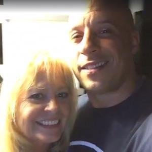 Vin Diesel, Paul Walkers Mom