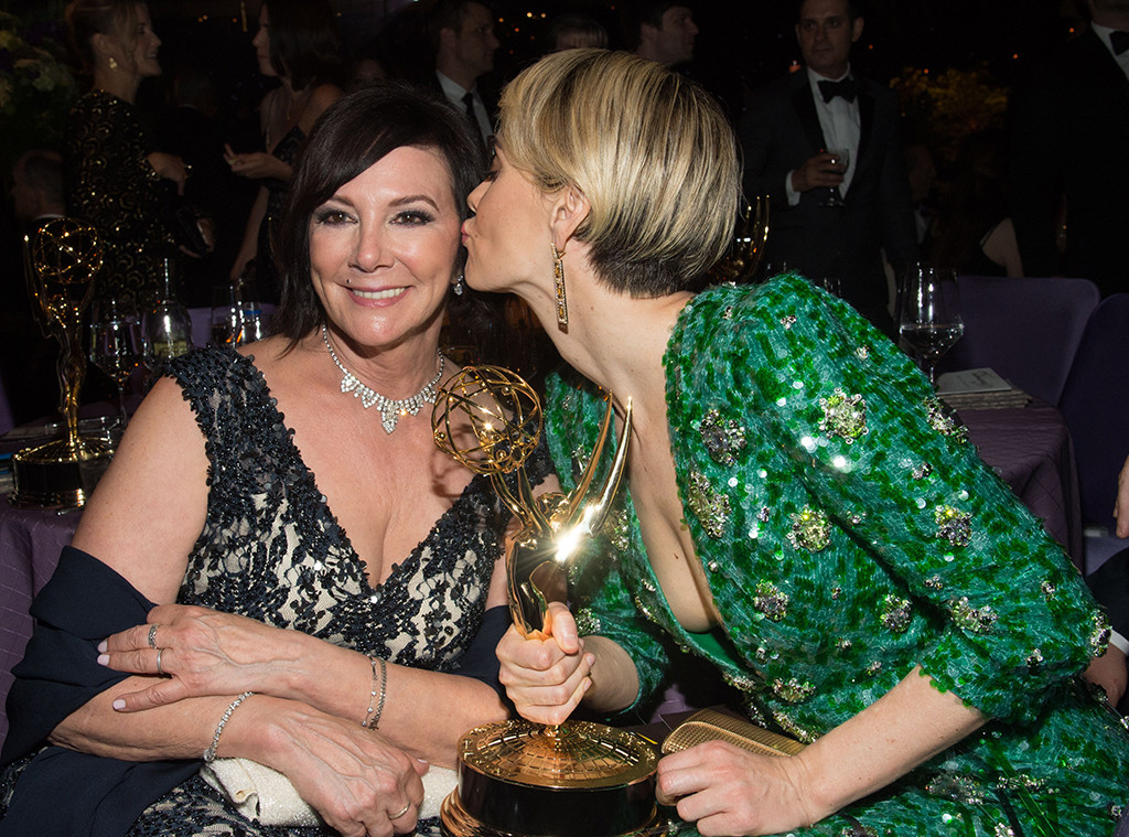 Sarah Paulson, Marcia Clark, 2016 Emmy After Party, Governors Ball, Candids