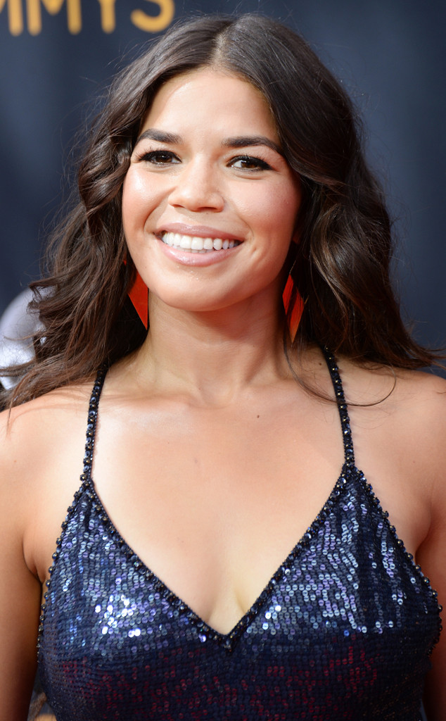 America Ferrera, 2016 Emmy Awards, Hair