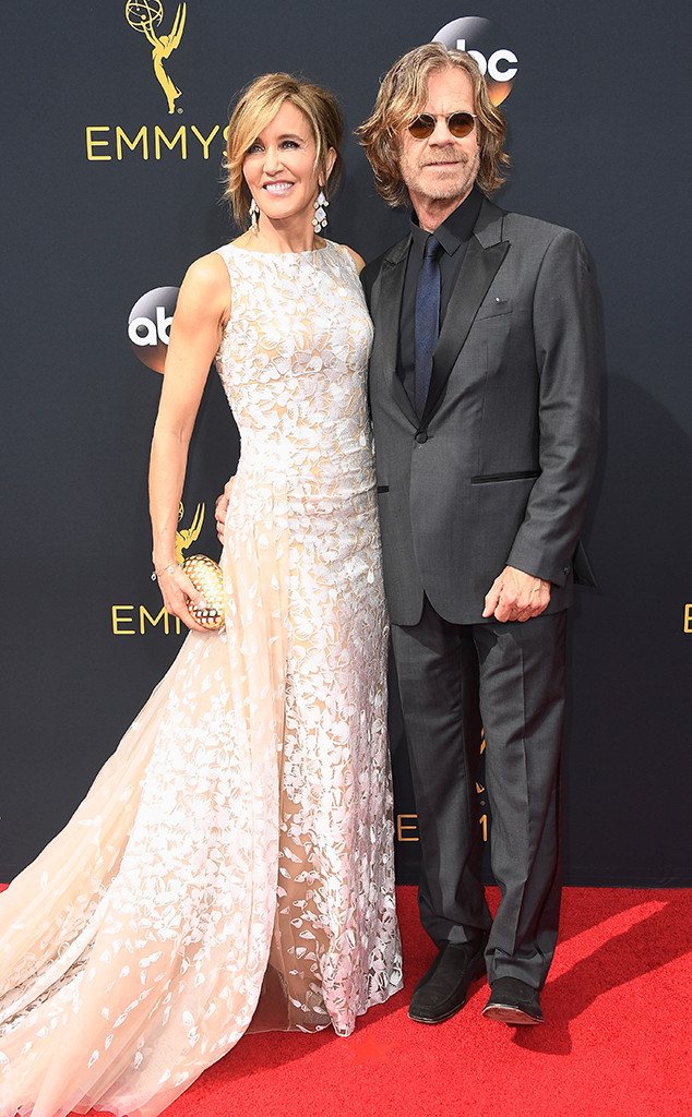William H. Macy, Felicity Huffman, 2016 Emmy Awards, Couples