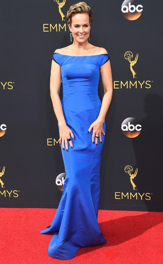 Melora Hardin From 2016 Emmys Red Carpet Arrivals E News