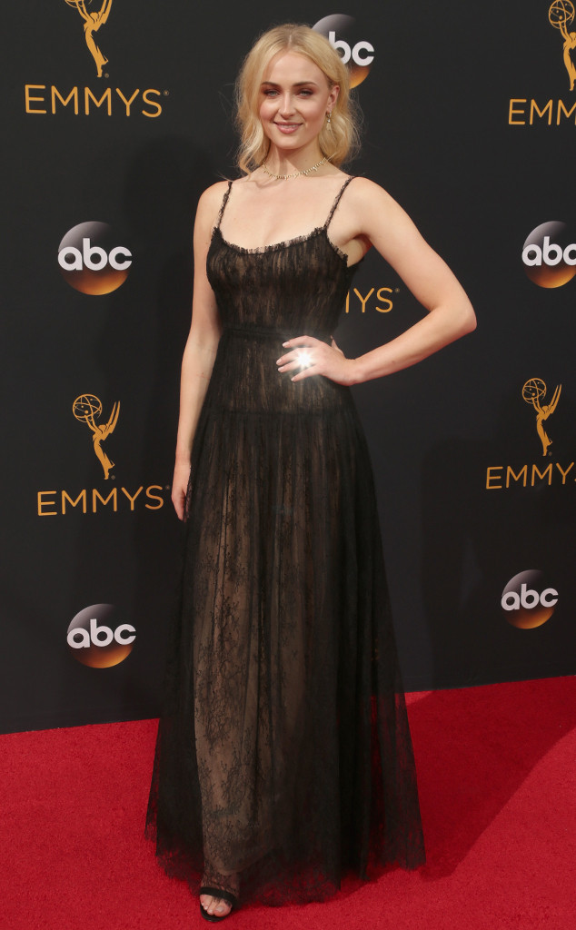 Sophie Turner, 2016 Emmy Awards, Arrivals