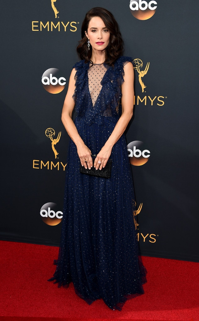 Abigail Spencer, 2016 Emmy Awards, Arrivals