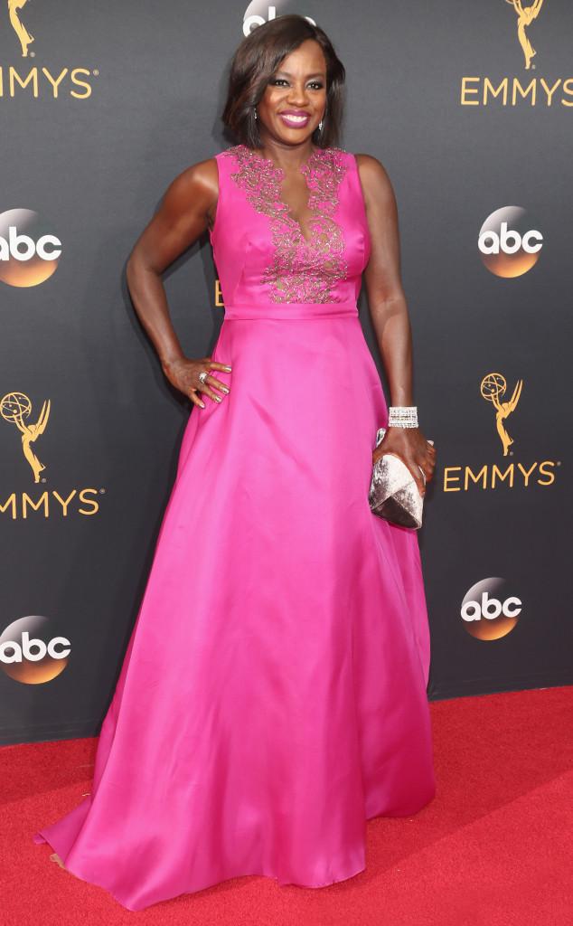 Viola Davis, 2016 Emmy Awards, NOT Arrivals