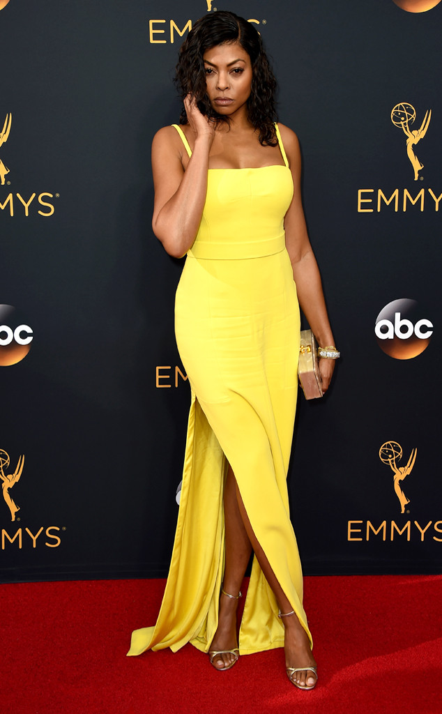 Taraji P. Henson, 2016 Emmy Awards, Arrivals, Best Ever