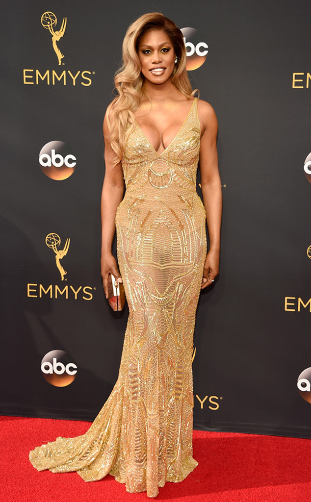 Laverne Cox, 2016 Emmy Awards, Arrivals