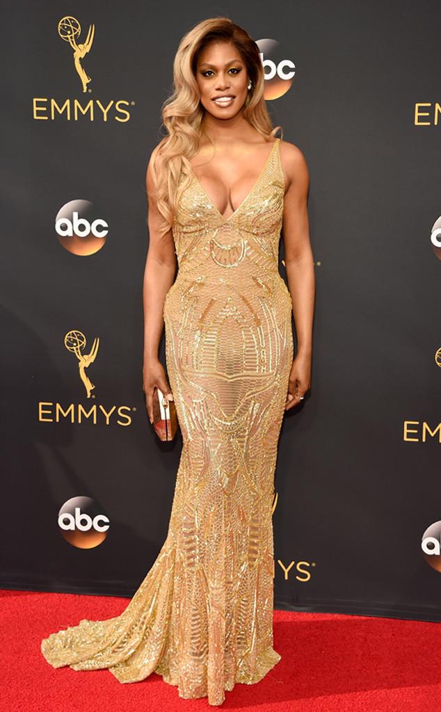Laverne Cox, 2016 Emmy Awards, Arrivals