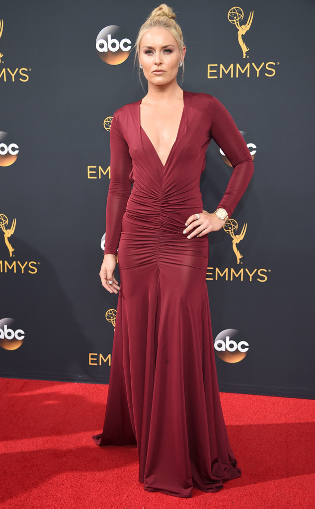 Lindsey Vonn, 2016 Emmy Awards, Arrivals