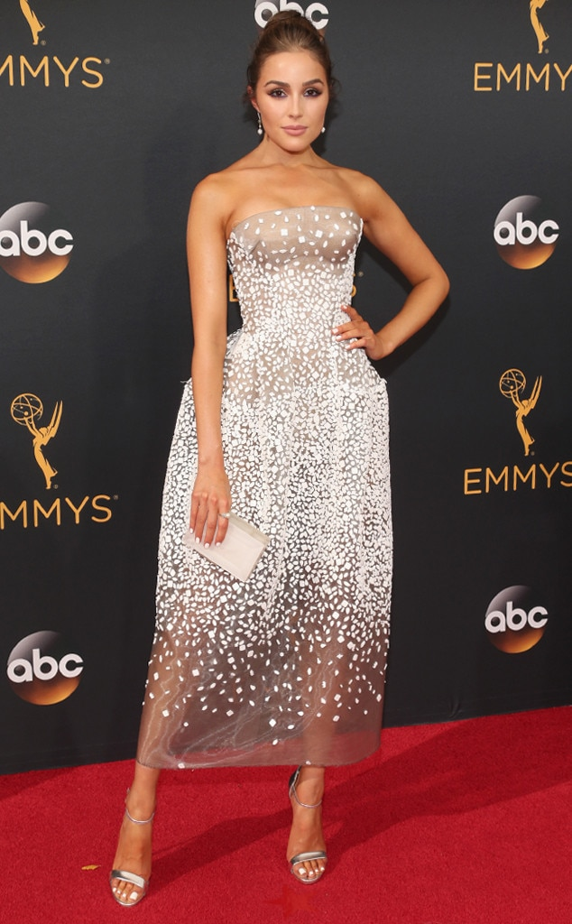 Olivia Culpo, 2016 Emmy Awards, Arrivals, Best Ever