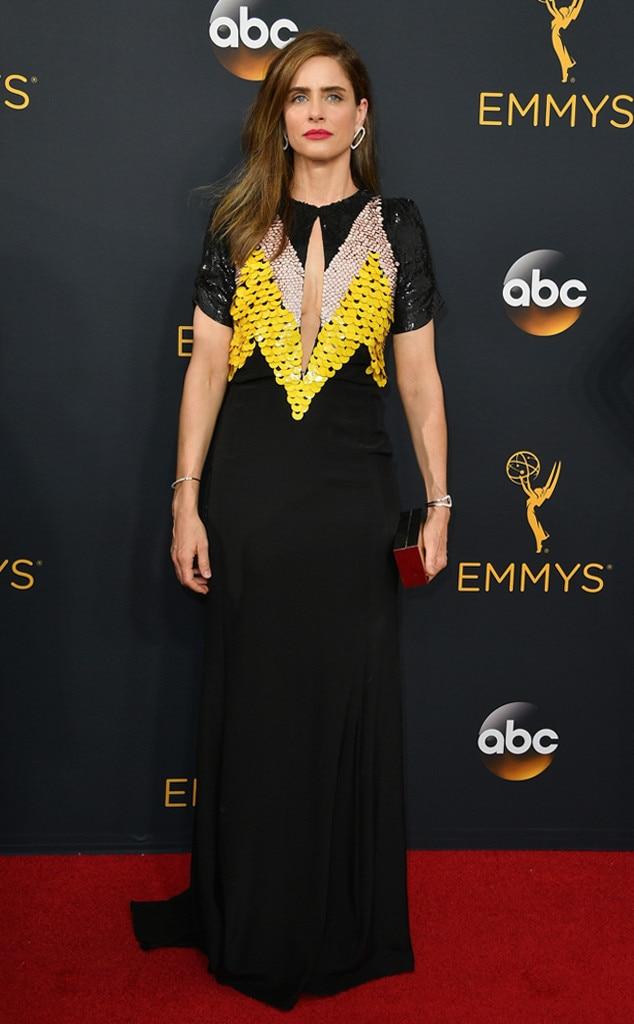 Amanda Peet, 2016 Emmy Awards, Arrivals
