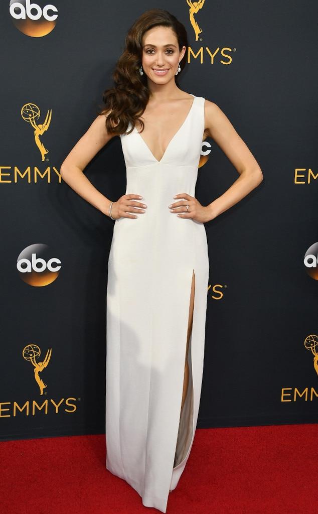 Emmy Rossum, 2016 Emmy Awards, Arrivals