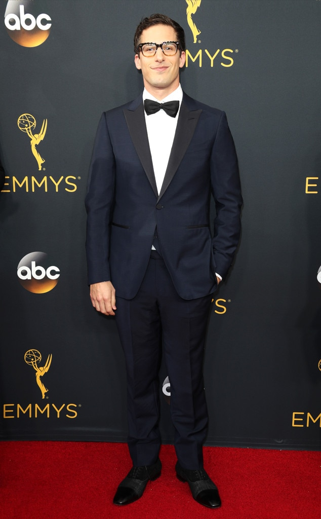 Andy Samberg, 2016 Emmy Awards, Arrivals