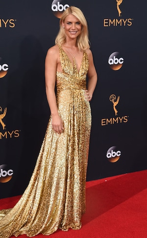 Claire Danes, 2016 Emmy Awards, Arrivals