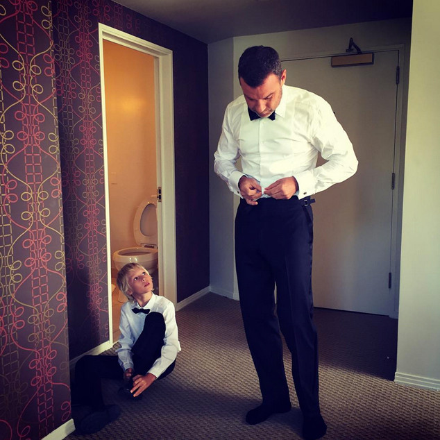 Liev Schreiber and His 9-Year-Old Son Make One Fashionable ...