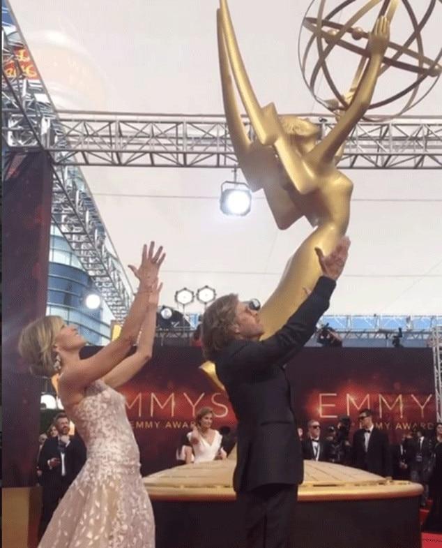 Felicity Huffman, Emmys Instagrams