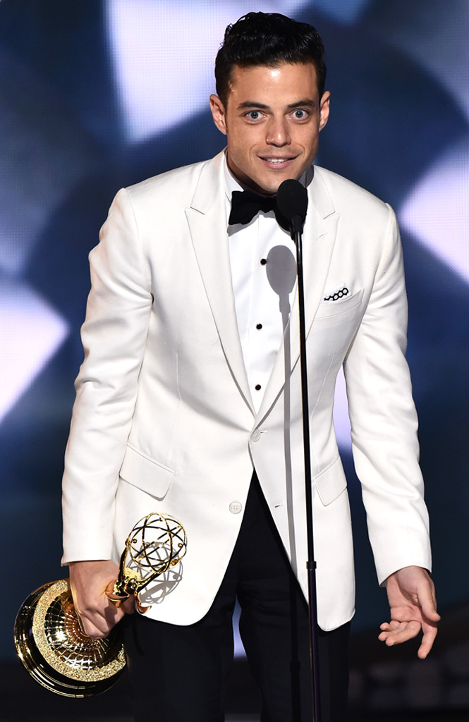 Rami Malek, 2016 Emmy Awards, Winners