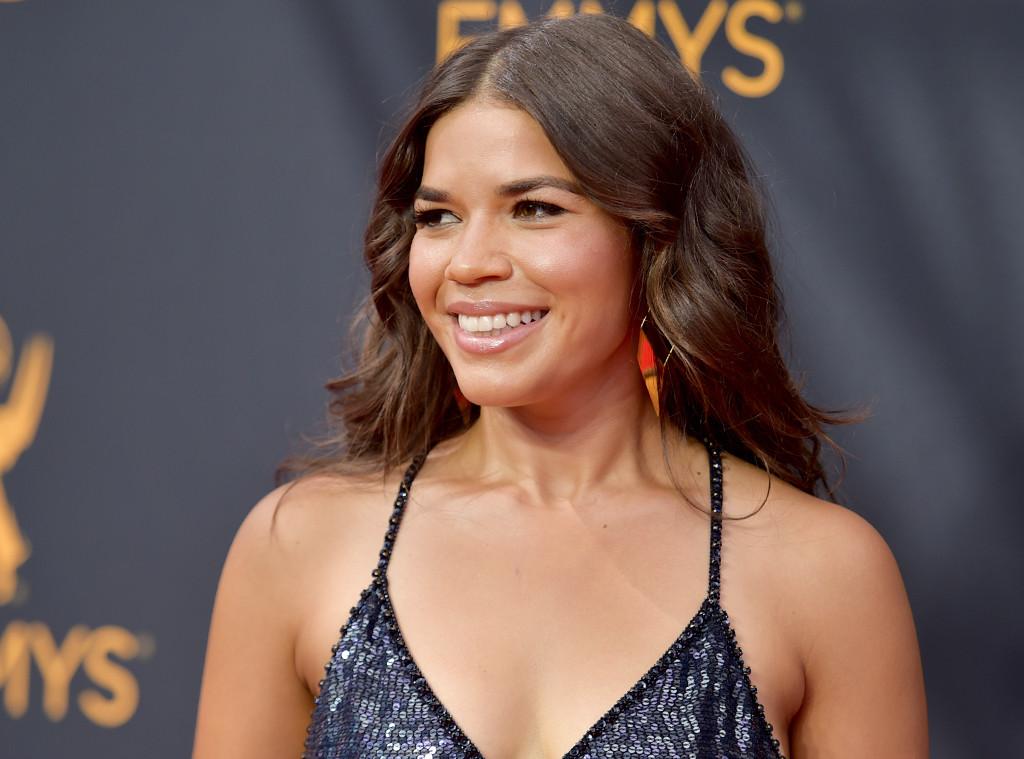 ESC: America Ferrera, 2016 Emmy Awards, Hair