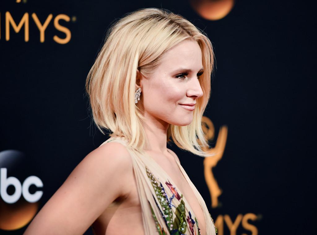 ESC: Kristen Bell, 2016 Emmy Awards, Hair
