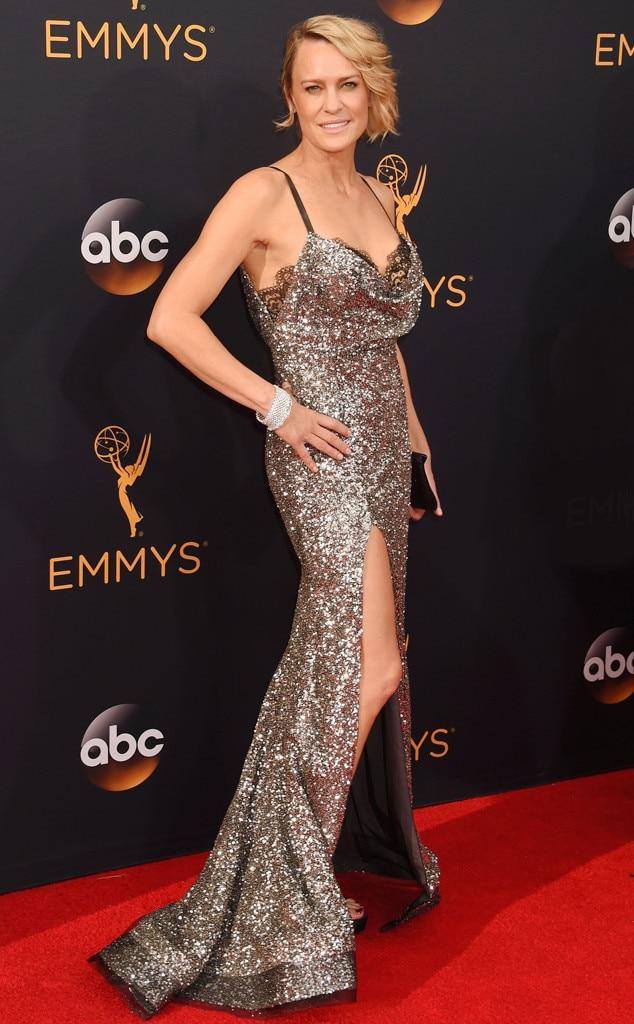 Robin Wright, 2016 Emmy Awards, Arrivals