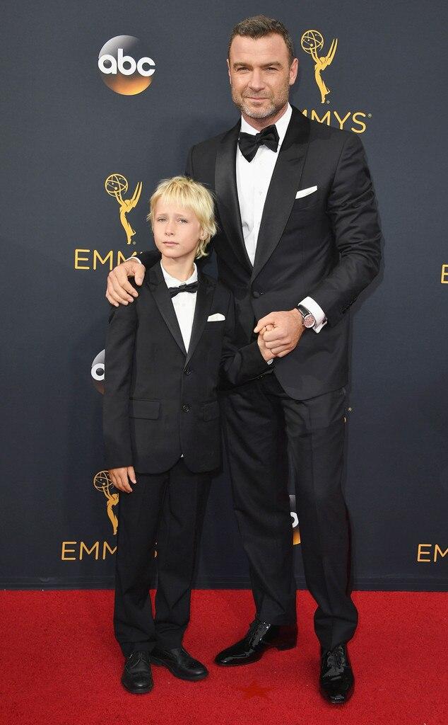 Liev Schreiber, Alexander Schreiber, 2016 Emmy Awards, Arrivals