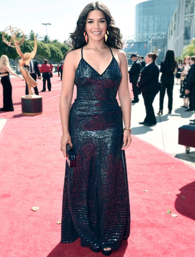 ESC: Emmy Dresses, Sequins, America Ferrera