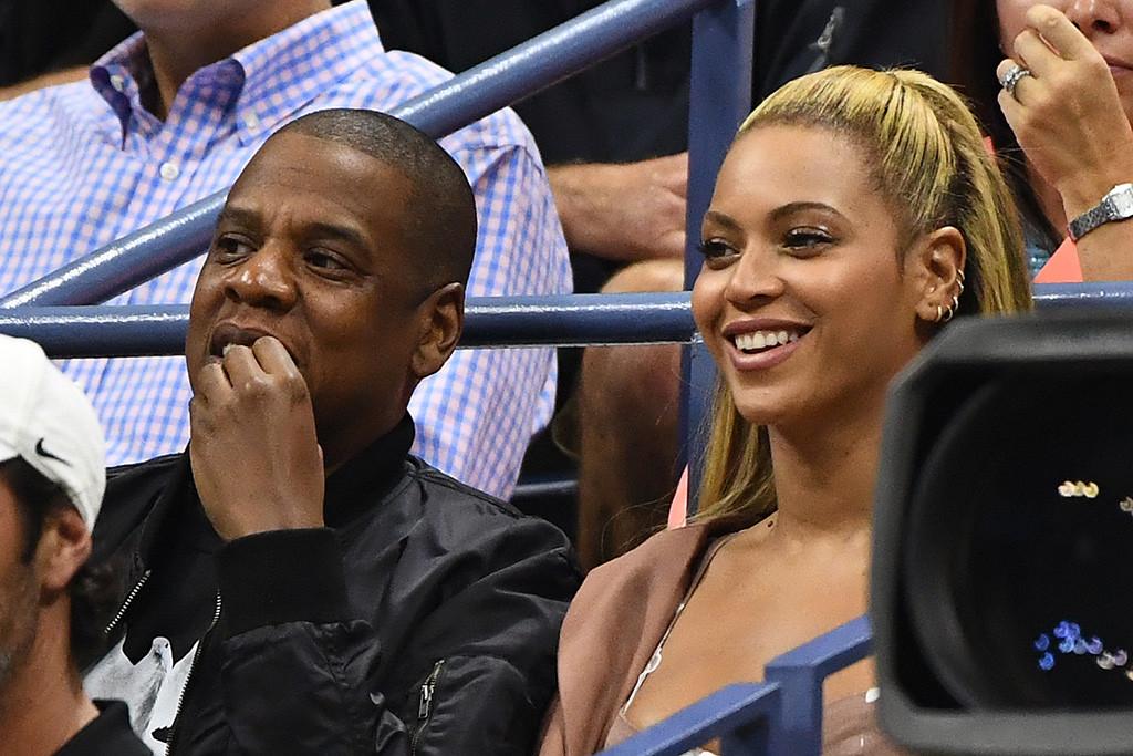 Beyonce, Jay Z, U.S. Open
