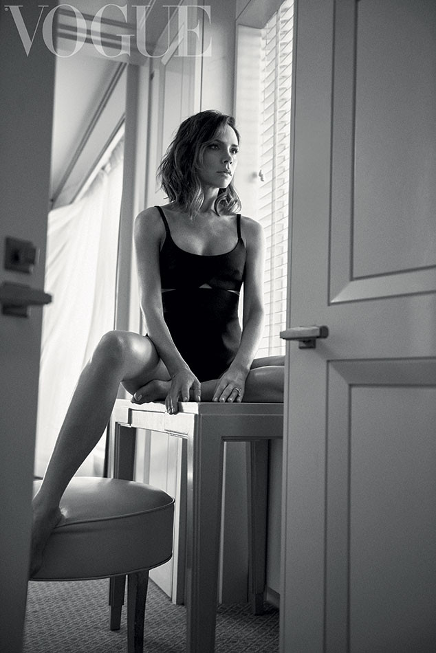 Victoria Beckham, Vogue UK, October Issue