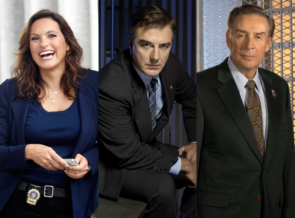 Law & Order, Mariska Hargitay, Chris Noth, Jerry Orbach