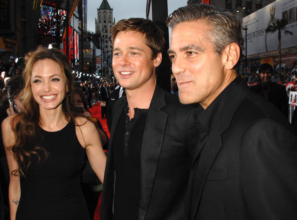 Angelina Jolie, Brad Pitt, George Clooney