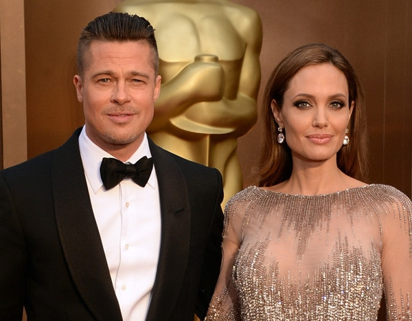 Angelina Jolie and Brad Pitt Had a Happy Wedding Day, but Getting
