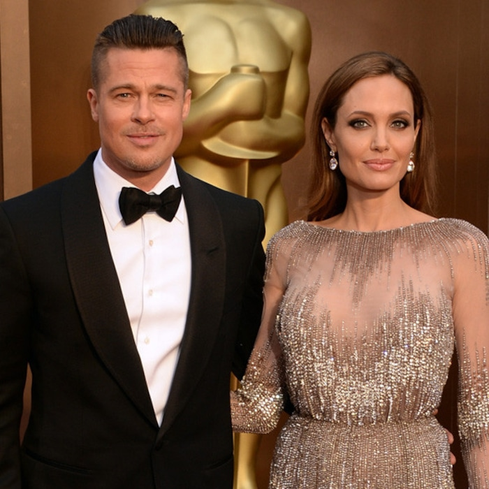 Angelina Jolie And Brad Pitt Had A Hy Wedding Day But Getting Married Was The Beginning Of End For Hollywood S Favorite E News