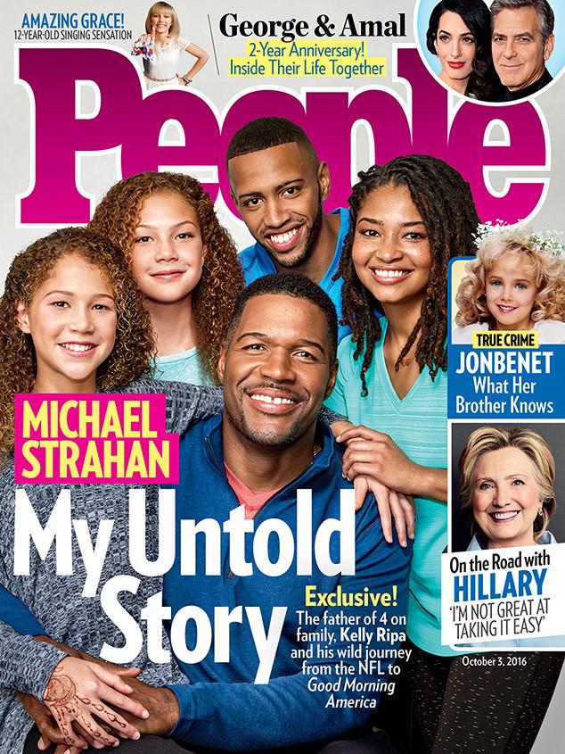 Michael Strahan, People