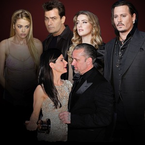 Nastiest Celebrity Divorces, Amber Heard, Johnny Depp, Sandra Bullock, Jesse James, Denise Richards, Charlie Sheen